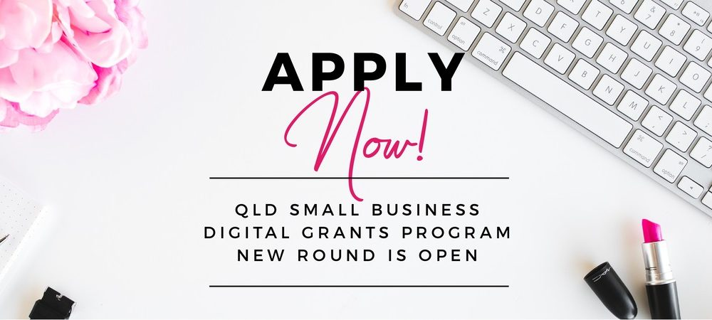 Apply Now - Qld Small Business Digital Grants Program